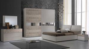 Schlafzimmer Komplett  Set Agata 6-Teilig 180 x 200 cm