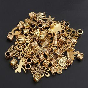 40x Charms Anhänger DIY Schmuck Handwerk für Halsketten, Armbänder