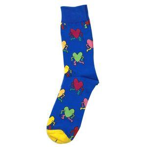Herren Socken Lustige Muster Socken Mode Uni 1 Paar Lovers Men