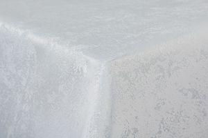 MELIERT Tischdecke Rechteckig 130x220 cm WEISS Lotuseffekt