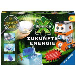 RAVENSBURGER ScienceX® Zukunfts-Energie Experimentierkasten Roboter Physik