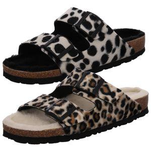 Rohde Damen Hausschuhe Pantoffeln Warmfutter Alba 6068, Größe:41 EU, Farbe:Beige