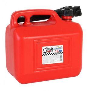 kanister mit Trichter 5 Liter rot