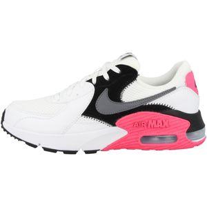 Nike Damen-Freizet-Trend-Schuhe WMNS AIR MAX EXCEE weiss grau pink, Größe:39