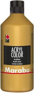 Marabu Acrylfarbe Acryl Color 500 ml gold 084