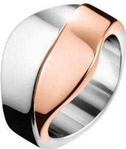 Calvin Klein Jewelry BICO KJ5EPR2001 Ring für Sie Design Highlight, Ringgröße:57 / 8