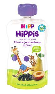 HiPP HiPPis Pflaume-Johannisbeere in Birne, ab 1 Jahr, DE-ÖKO-037 - VE 100g