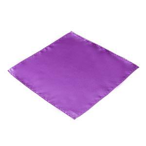 DonDon Herren Einstecktuch lila