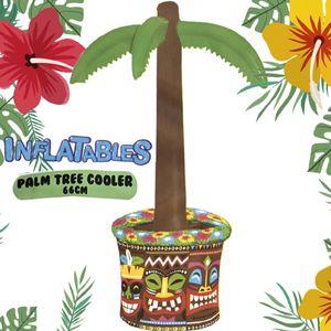 Aufblasbare Palme Getränkekühler Hawaii Kühler Bierkühler Deko ca.66cm Party