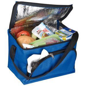 Kühltasche / Größe: ca. 200x150x150mm / Farbe: blau