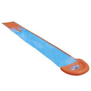 Bestway Wasserrutsche Spaß Wasserbahn 4,88 m blau orange