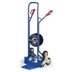 Protaurus Treppenkarre mit Dreisternen und zusätzlichen Lufträdern 200kg Traglast