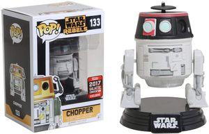 Funko Pop! Star Wars Rebels Chopper #133 2017 Star Wars Celebration Exclusive