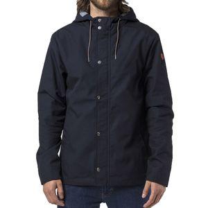 Revolution Herren Jacke Short parka jacket with silver trim, Größe:M, Farben:navy
