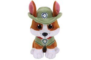 TY Beanie Boos 15cm Glubschi Paw Patrol Tracker Hund Stofftier Plüschtier