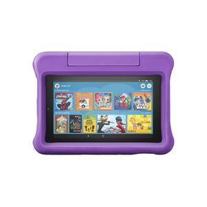 Amazon Fire 7 Kids Edition-Tablet 2019, 17,7 cm (7 Zoll) Display, 16 GB, violette kindgerechte Hülle mit Ständer