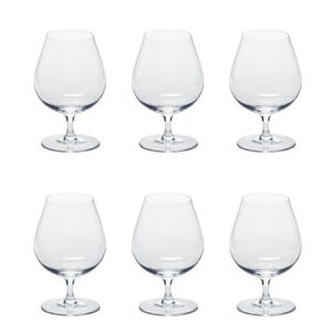 LEONARDO 061454 Ciao+ Cognacschwenker, Glas, 370ml, klar (6 Stück)