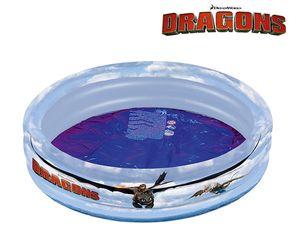 Dragons 3-Ring Poolaufgeblasen ca. 100x23 cmunaufgeblasen ca. 95x30 cm