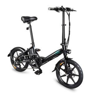 "16"" Faltrad Elektrofahrrad Mountainbike E-Bike, Aluminium-Elektroroller 6-Gang-E-Bike Fettreifen Elektrisch klappbares mit Abnehmbarer 250W 36V 7.8Ah Lithiumbatterie NEUE"