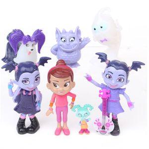 9 TEILE/LOS Junior Vampirina Die Vamp Action Figur Spielzeug