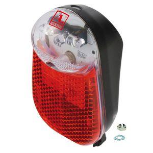 Fahrrad Rücklicht mit LED Standlicht für Dynamo Beleuchtung Licht Lampe hinten