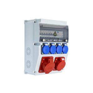 Baustromverteiler Komplett EDO ASTAT 119 PLUS IP65 32A/5P, 16A/5P, 4x230V