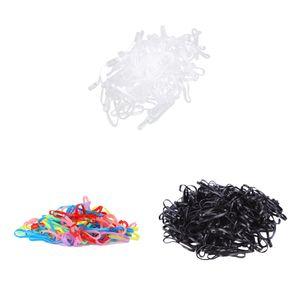 300 Stück Haargummi Zopfgummi Mini Elastische Pferdeschwanz Haare Bindet Gummibänder