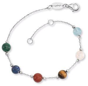 Engelsrufer ERB-LILGEM-6ST Silber Damen-Armband mit 6 Kraftsteinen