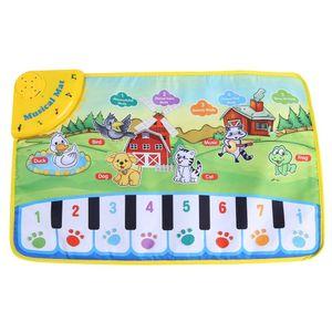 Baby Musikmatte Klaviermatte Spielmatte Babymatte Tanzmatte Teppich Spielzeug Geschenk 60x39cm