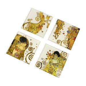 Goebel Artis Orbis Gustav Klimt AO GK US Set Kuss, Adele 10x10 67061461