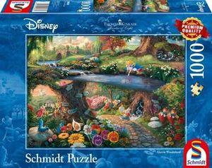 Schmidt Spiele Puzzle Disney, Alice im Wunderland 1000 Teile