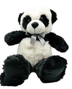 Panda mit Schleife Bär 60 cm Kuscheltier Teddybär Teddy