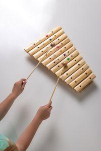 Boogie Bee Holz Xylophon mit 12 Noten