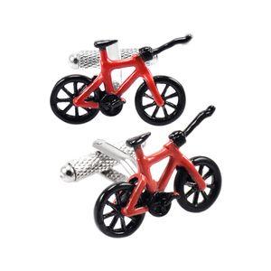 Neuheit Motorrad Französisch Shirt Sleeve Bike Manschettenknöpfe Manschettenknöpfe Gold Rot 17x28mm Schwarz Rot