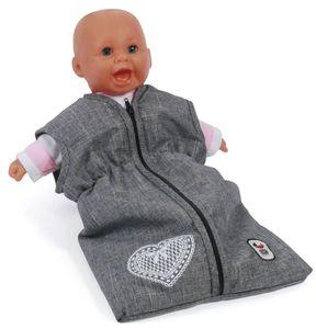 Bayer Chic 2000 792 76 Puppen-Schlafsack, Jeans Gr