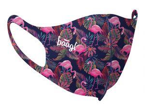 Mund und Nasenschutz Waschbar mit Flamingo Motiv, Mundschutz Maske für Kinder Mädchen, Schutzmaske Stoffmaske (Flamingo - Kinder)