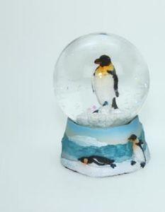 Schneekugel  Pinguin, 6 cm, Schneekugel, Tier Tiere Pinguine