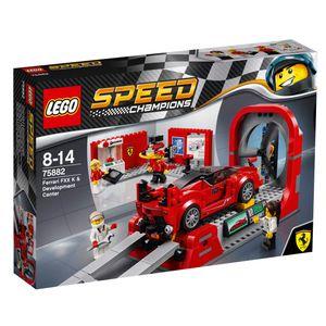LEGO® Speed Champions Ferrari FXX K & Entwicklungszentrum 75882