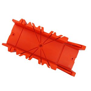 Sägeset Feinsäge Schneidlade Gehrungslade aus stabilem ABS-Kunststoff, für DIY Holzbearbeitung, 22,5° 45° 90° Größe 12 Zoll