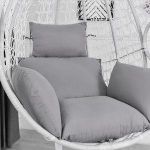 (grau)Hängesessel Sofa Chair Cushion Durable Sofa Cushion Kissen Stuhlkissen