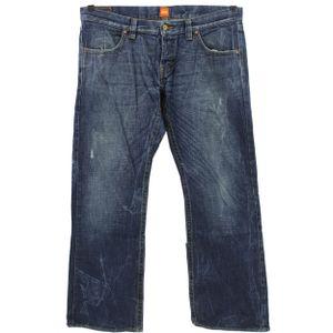 #6069 Hugo Boss, HB 60,  Herren Jeans Hose, Denim ohne Stretch, blue, W 38 L 32