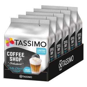 TASSIMO Kapseln Typ White Choco Coconut Latte Coffee Shop Selections 40 Getränke