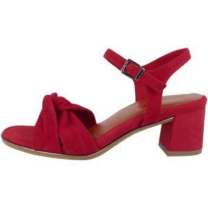 TAMARIS Damen Sandaletten Rot, Schuhgröße:EUR 41