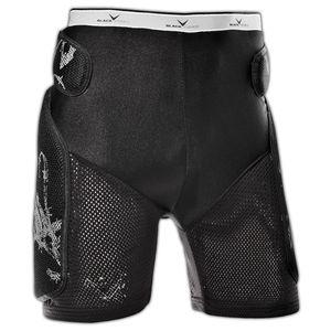 Black Crevice Protektorshort, Farbe:schwarz, Größe:S