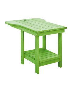 "A12 Tête-à-Tête with 1.625"" Umbrella Hole-Copy : kiwi green 17 Farbe: kiwi green 17"