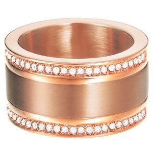 Esprit Damen Ring esprit-jw50035 Rose Edelstahl Zirkonia 56 (17.8)