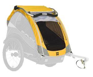 Verdeck für Burley D'lite, Cub & Encore - gelb - Fahrradanhänger  ab 2013 - 2018