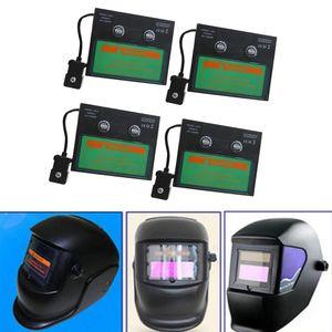 4 Stü Solar Auto Verdunkelung Schweißhelm Objektiv Filter Shade, Augen Gesicht Vollen Schutz Gegen UV Und IR Strahlung
