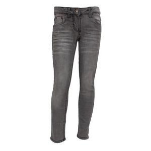 Mädchen Jeans Skinny Hose Denim Line - Grau, 140 (Farbe: Grau, Größe: 140)