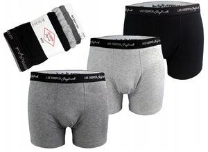 3er Pack LEE COOPER Herren Unterhose Unterwäsche Boxershorts Trunks 37397 35034 36023 M